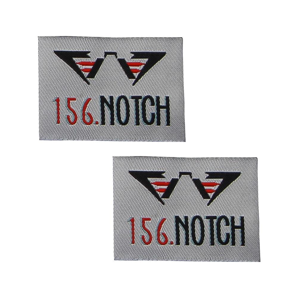 Ev ve Bahçe'ten Giysi Etiketleri'de Özel el yapımı dokuma etiketleri özelleştirilmiş siyah Örgü etiketi giyim etiketleri için lüks tasarımcı ünlü marka logo etiketi'da  Grup 2