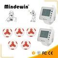 Mindewin Беспроводная система пейджера 2 наручные часы M-W-1 8 многоцветных кнопок вызова M-K-4 система вызова ресторана
