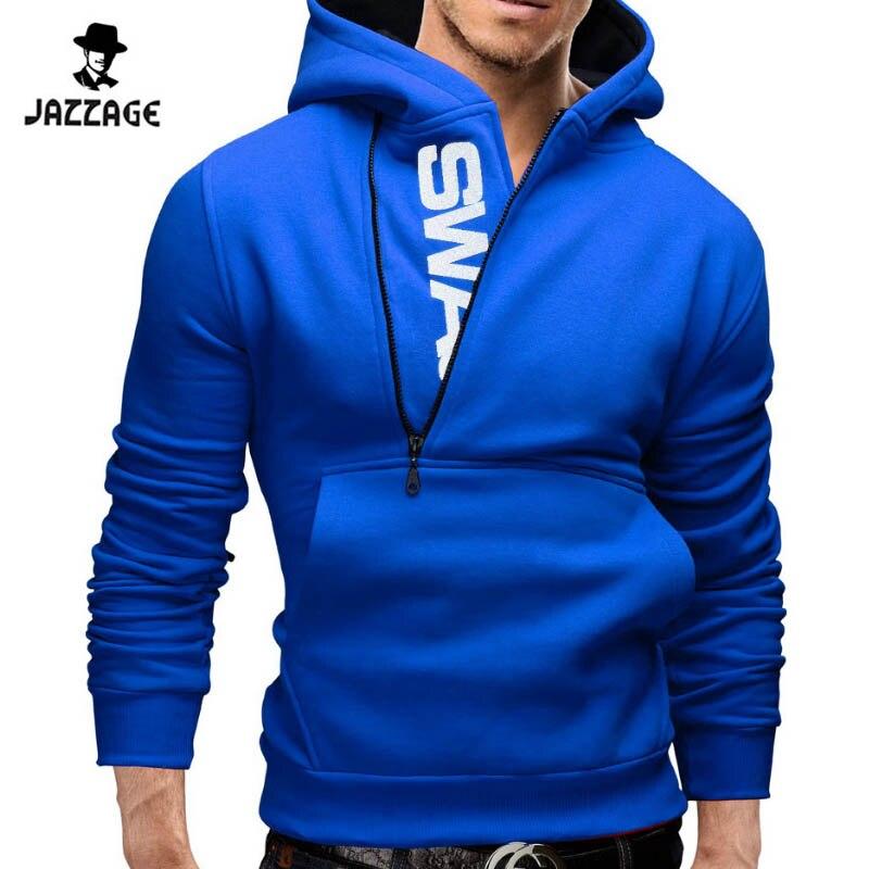 Hoodies Män 2018 Märke Sweatshirt Män Hoodies Fashion Solid Hoodie - Herrkläder - Foto 3