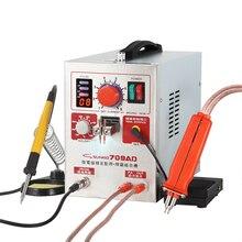 SUNKKO 709AD High Pulse spot welder 2.2kw high power battery spot welding machine with soldering iron spot welder pen 110V 220V