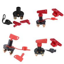 1 Set Auto Car Battery Disconnect Switch Power Isolator Cut Off Kill Switch for Marine Car Boat Rv ATV Vehicles S/L