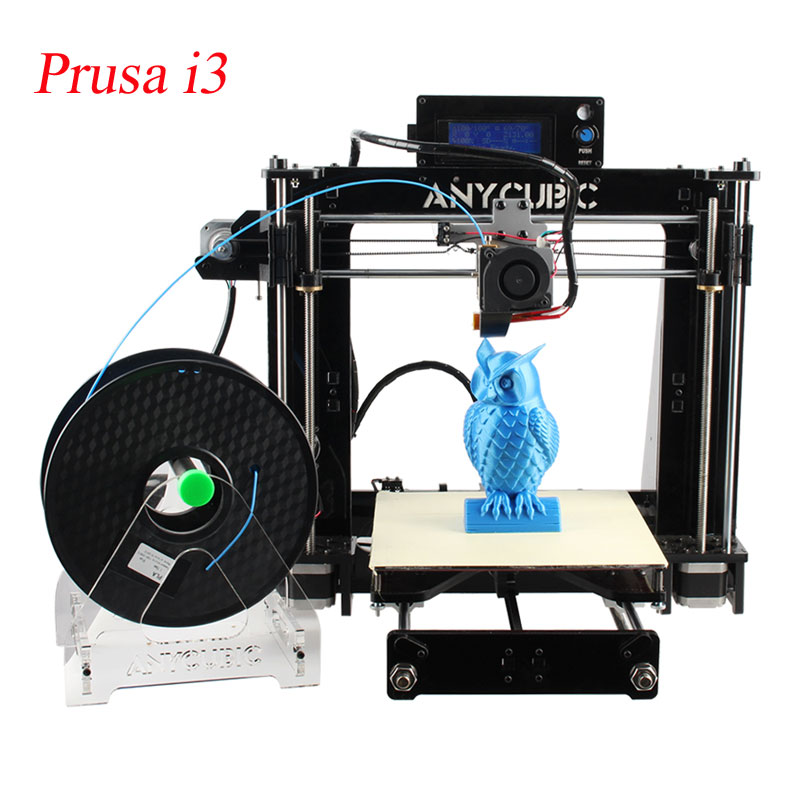 3d Printer Prusa i3 impresora 3d Printer kit Prusa i3 kit High Precision with1kg Filament  2G SD card nozzles for Free