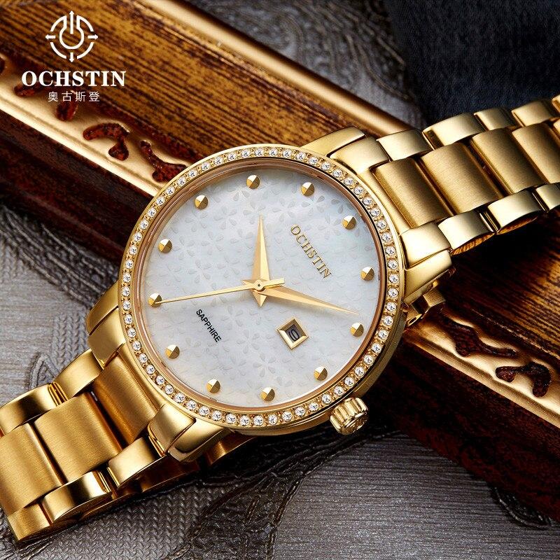 2017 Watches Women Luxury Brand Fashion OCHSTIN Dress Quartz Watch Women's Wristwatch Female Clock Montre Femme Relogio Feminino