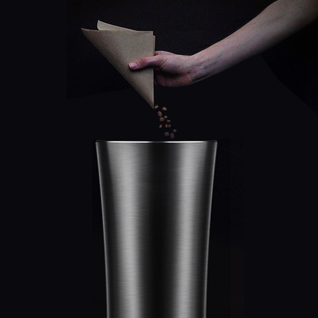 2019 di Caffè Tazza di Latte In Metallo di Rame Isolato In Acciaio Inox Boccetta