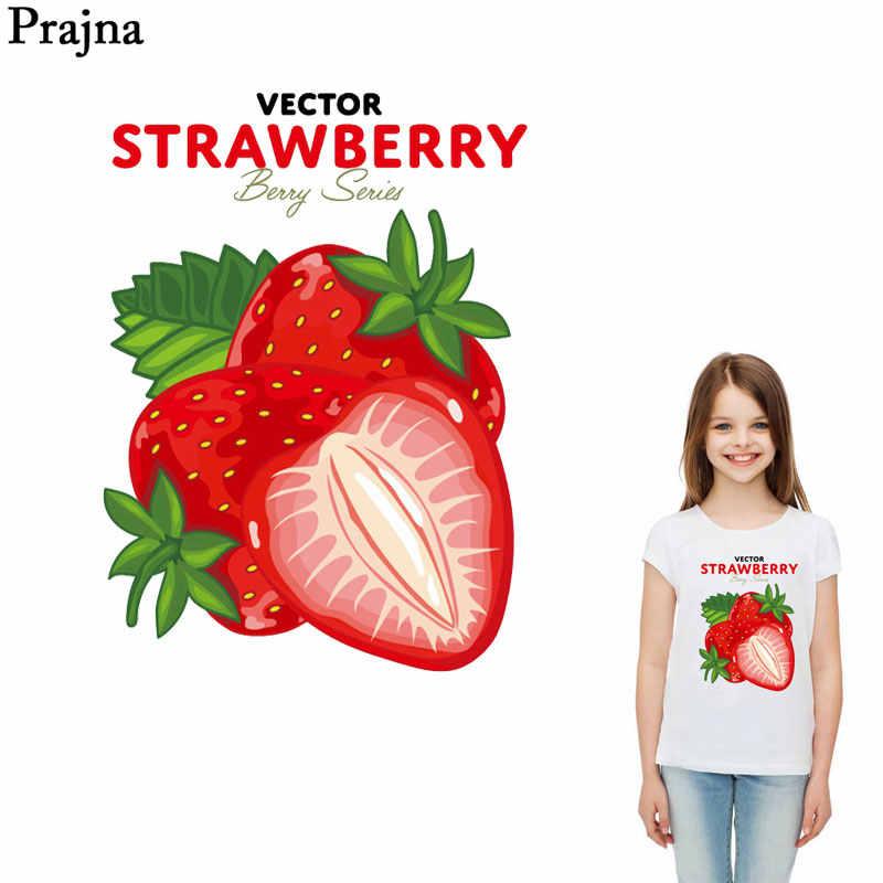 Prajna Летний стиль патч Victor клубника железа-на передачи быть серии глажки патчи для одежды DIY Футболки с аппликациями