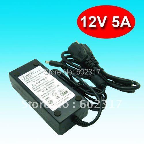 5pcs/lot Imax B5 B6 Balancer Charger 12V 5A  Power Adapter supply adaptor free shipping accept hot selling
