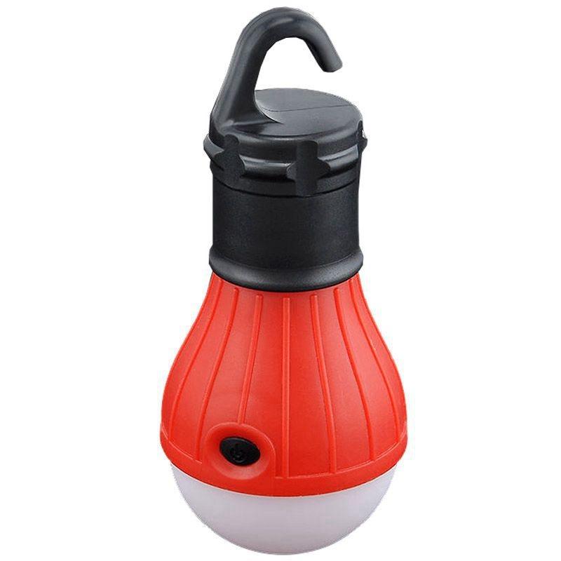 New Outdoor Hanging 3 LED Camping Tent Light Bulb Fishing Lantern Lamp