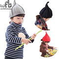 Retail 1-9years 55cm lovely caps hats wool knitting baby children infant gorras head beanies bebes kids spring fall winter