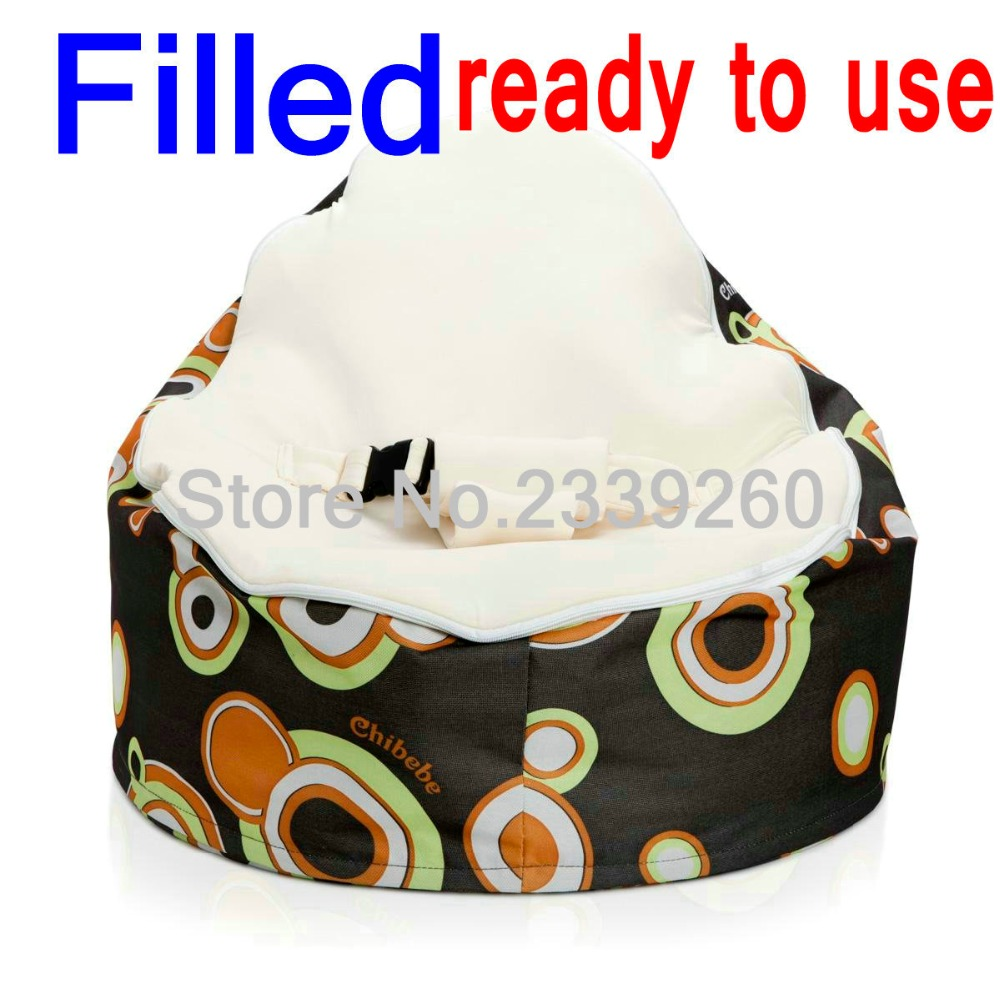Filled With Beans Baby Bean Bag Chair Beautiful Colorful Dots Infant Portable Beanbag Fillings In Living Room Sets From Furniture