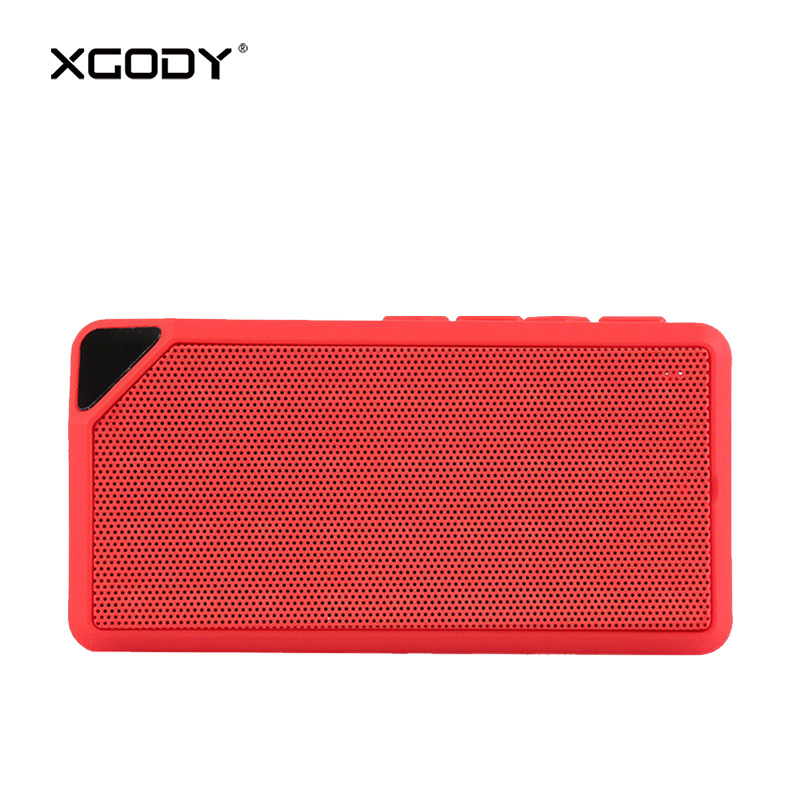 XGODY F3X Mini Portable Wireless Speaker Bluetooth V4.2 FM Radio Handsfree Phone Call TF Card Sound Box Column Loud Speakers