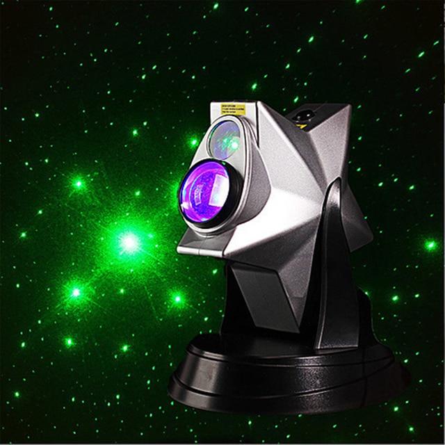 Drop Ship Laser Shower Light DIY Star Projector Starry Moon Lamp - Laser lights for bedroom