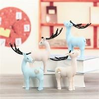 Decoração nórdico Bonito animal Cervos cavalo ovelhas e urso de Decoração Para Casa decoração de Mesa birthdhday Dos Namorados Criativo Presente do partido
