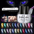 Belen Cat'S-Eye Gel Nail Polish LED Cat Eye Gel Colorful UV Nail Gel Colors Coat UV Base Coat Magnet Effect Magnetic Gel Lacquer