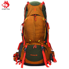 Jungle King 2017 Outdoor professional mountaineering bag 80L heavy backpack large capacity necessary sports camping hiking