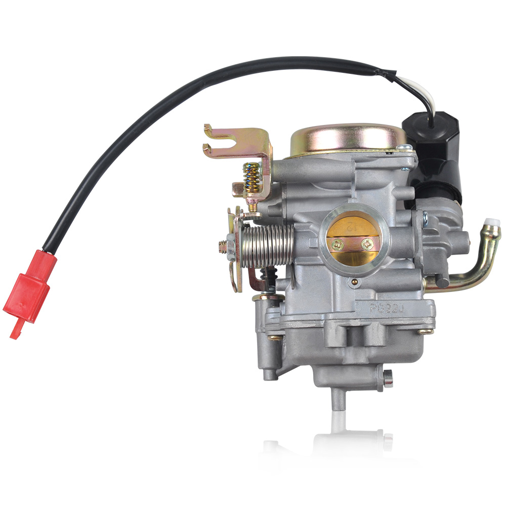 NIBBI Racing Parts Replacement Carburetor CVK 22mm for 100CC~125CC Engine Scooter Moped nibbi engine upgrade parts cylinder 58 5mm 6 2mm camshaft for gy6 scooter 150cc 125cc 152qmi 157qmj