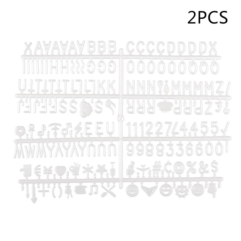 Characters For Felt Letter Board 360 Piece Numbers For Changeable Letter Board in Drawing Board from Office School Supplies