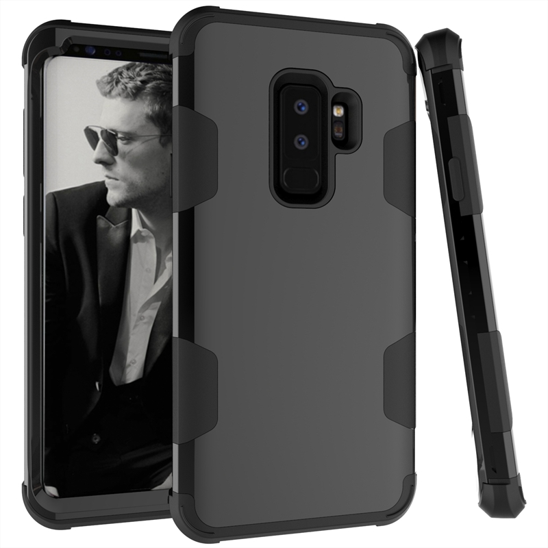 S9/S9 Plus Brand New 360 Degree Full Protective Case For Samsung Galaxy S9 Plus Hit Color Hybrid Armor Cover For Galaxy S9 Plus