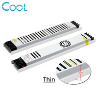 Ultra Thin LED Power Supply DC12V Lighting Transformers 200W 300W AC190 240V LED Driver Power Adapter