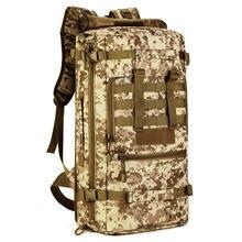 50 л мужская дорожная сумка туристический рюкзак для активного