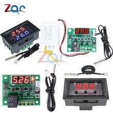 W1209WK W1209 DC 12V AC 110V 220V Digital Thermostat Temperature Controller Regulator Thermoregulator Incubator Sensor Meter NTC
