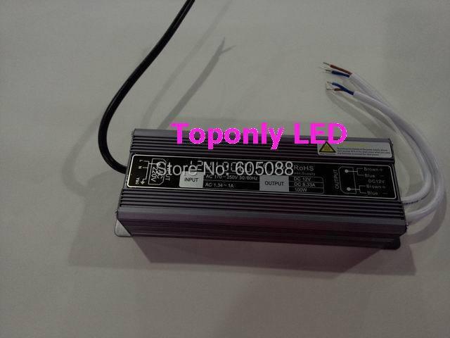 IP67 haute qualité 12 v 100 w led pilote ac110v 220 v à dc12v 24 v alimentation led offre idéale utilisée pour l'éclairage de bande led smd/barre/module