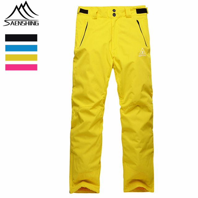Saenshing Brand Outdoor Hiking Skiing Pants Winter Snow Sports Trousers  Women Waterproof Windproof Snowboarding Trekking Pants 8bd86f9ac