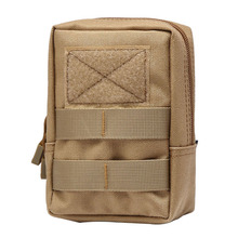 Military Tactical 600D Multifunctional Waist Bag Outdoor EDC Molle Pouch Tool Zipper Waist Pack Accessory Durable Belt Pouch 600d military tactical molle unisex clay dragon tactical belt durable canvas hunting material outdoor utility accessories