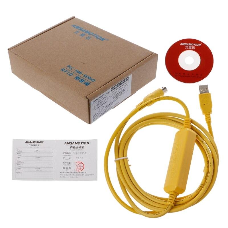 USB-SC09-FX plc желтый программирования сетевой кабель SC-09 SC09 FX FX1N/FX2N/FX1S/FX3U
