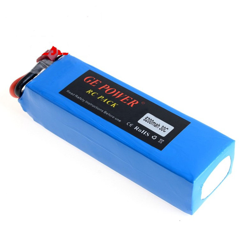 цена на RC Lipo battery 3s 11.1V 5200mAh 30C for radio control toy aircraft car helicopter drone multirotor airplane boat quadcopter