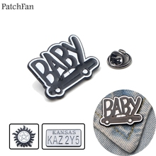 Patchfan Supernatural SPN Zinc pins para backpack pride clothes metal medal for bag shirt hat badge brooches men women A1310
