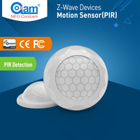 NEO COOLCAM NAS PD02Z ZWave Plus PIR Motion Sensor Detector Feature Easy Install Battery Operated Home Automation Sensor