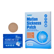 цена на 36Pcs Anti Motion Sickness Patch Fast Acting Behind Ear Chinese Herbal Plaster Dizziness Health Care Medical K02201
