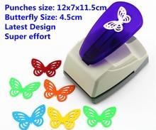 Super Große Größe Shaper Schlag Handwerk Scrapbooking schmetterling Papier Puncher großen Handwerk Punch DIY kinder spielzeug
