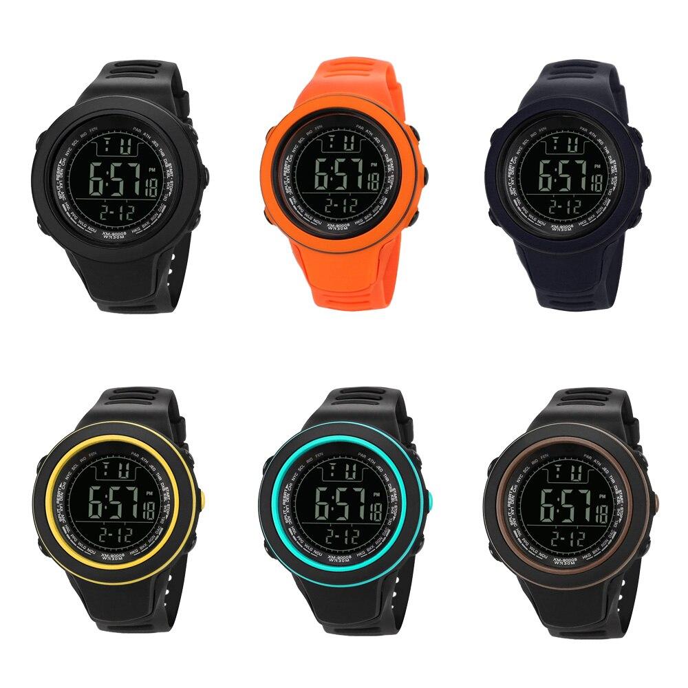 Sport Smart Watch Digital Silicone Waterproof LED Shock Electronic