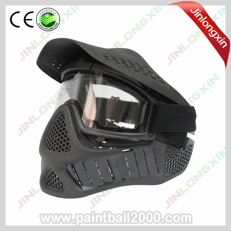 SPUNKY Tactical Airsoft Mask Anti Fog Paintball Mask with Sly Double Elastic Strap