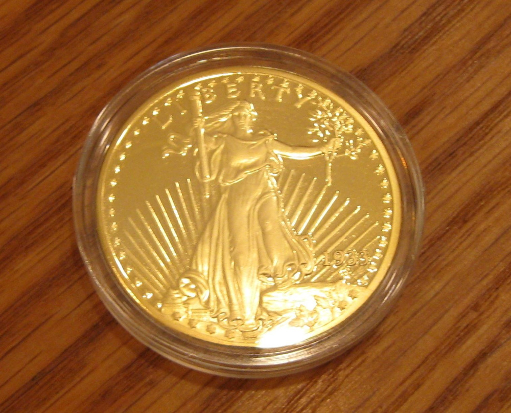 Custom Gold Plated Challenge Coin With Gift Box cheap custom made gold coin high quality usa