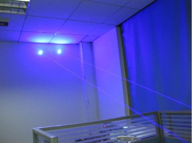 Mais poderoso militar 100w 1000000m azul laser