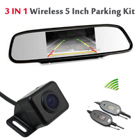 Wireless Transmitter Module For Waterproof Rear View Backup Camera And Receiver Moudule For 5 HD Auto