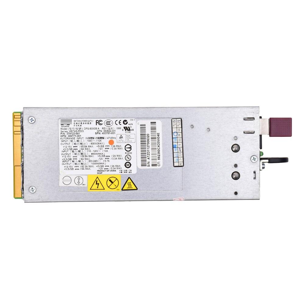 Pour HP DL380 G5 1000 W serveur alimentation DPS-800GB A, 379123-001,403781-001
