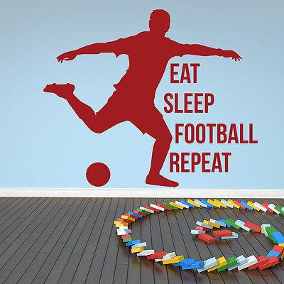 Aliexpress Buy Eat Sleep Football Repeat Sports