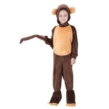 Adultos niños familia Halloween mono franela con capucha pijamas onesie  traje idea Funny catsuit cola para 41eabfe2006a