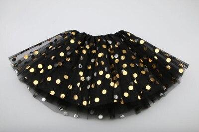 Г. Новая летняя и Осенняя детская юбка детская одежда юбки-пачки для девочек модная повседневная юбка-пачка для принцесс - Цвет: black