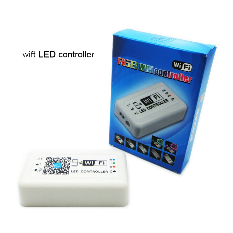 Factory Sale Wifi RGB LED controller Unique design rgb led controller for Iphone,Android 2.3Version IOS,DC12-24V,4A *3 current