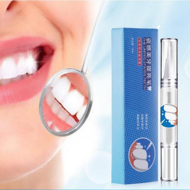 Effective Teeth Whitening Pen Tooth Gel Brightening Whitener Remove