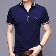 Best selling France brand eden park 2019 Summer Man Polo Shirts Cotton Short Sleeve Polos Trendy shirt for men Big size YP7176(China)