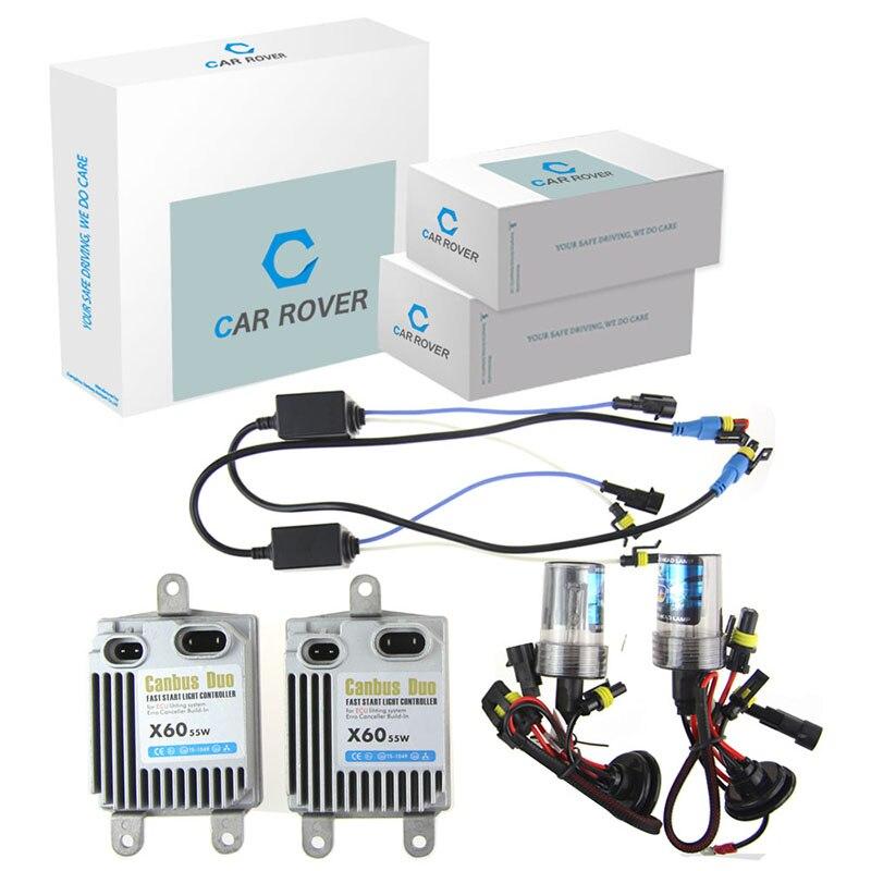 Car Rover Super Bright Car HID Xenon Conversion Kit 55W