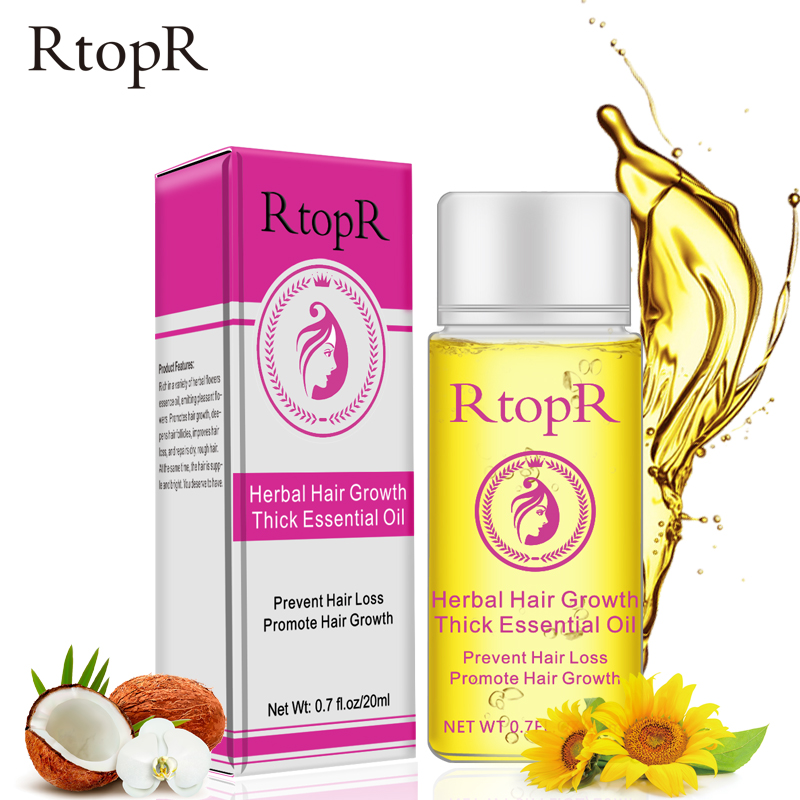 Herbal Hair Growth Anti Hair Loss Liquid Promote Thick Fast Hair Growth Treatment 20ml Essential Oil Health Care Beauty Essence in Essential Oil from Beauty Health