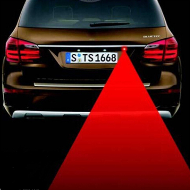 Car Styling Tail Laser Fog Lamp Warning Lights For Toyota
