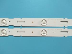 Image 4 - New Kit 8 PCS 5LED 428mm LED Backlight strip for TV 40VLE6520BL SAMSUNG_2013ARC40_3228N1 40 LB M520 40VLE4421BF