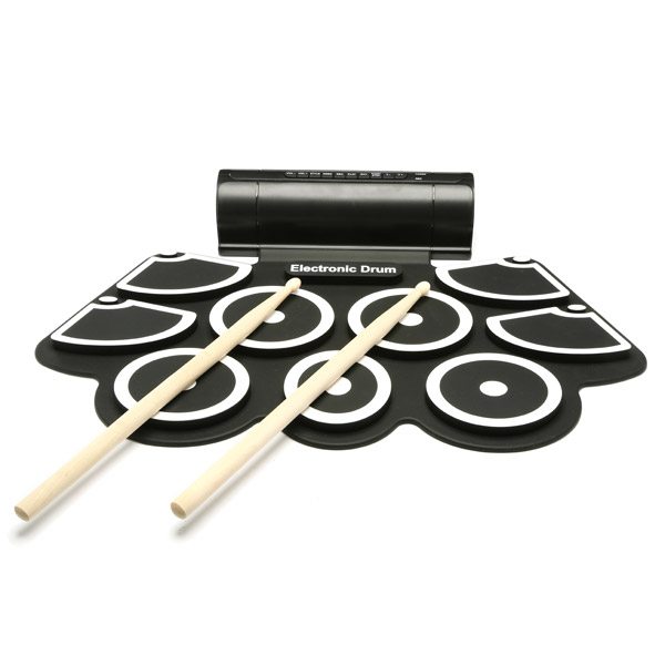 ShirLin Roll Rack Drum Game Drums Electronic Drum 9 Face HandT Game External Equipment Practice Electronic Drum Peripherals Kit 2016single hanger rack drum stand drum rack jazz drum cymbal rack water rack